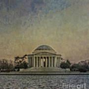 Jefferson Memorial At Dusk Art Print