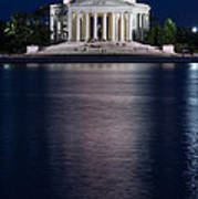 Jefferson Memorial Washington D C Art Print by Steve Gadomski