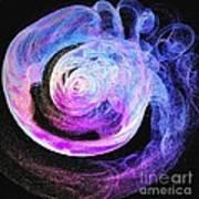 Jellyfish Abstract Art Print