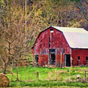 Jemerson Creek Barn Art Print