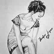 Jeniffer Lopez Art Print