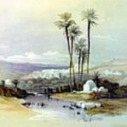 Jenin Ancient Jezreel 1839 Art Print