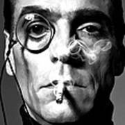Jeremy Irons Portrait Art Print