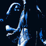 Jerry And Donna Blues 1978 Art Print