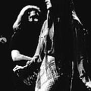 Jerry And Donna Godchaux 1978 Art Print