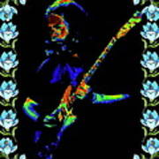 Jerry And The Flowers 2 Art Print