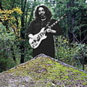 Jerry At The Pyramid In The Woods Art Print
