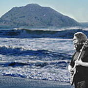 Jerry Garcia At Mt Tamalpaisland 3 Art Print