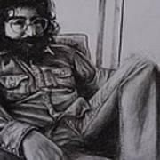 Jerry Garcia In '72   Art Print by Leandria Goodman