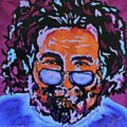 Jerry Garcia-it's A Me Thing Art Print by Bill Manson