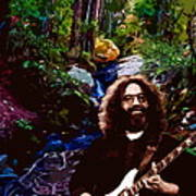 Jerry's Mountain Music 8 Art Print