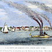 Jersey City, 1844 Art Print by Granger