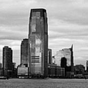 Jersey City New Jersey Waterfront And 10 Exchange Place New York City Art Print