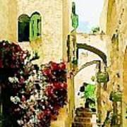 Jerusalem Old City Art Print