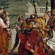 Jesus And The Centurion Art Print