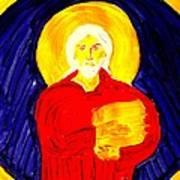 Jesus Christ And Book Of Mormon Gold Plates Art Print