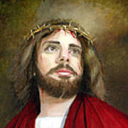Jesus Christ Crown Of Thorns Art Print