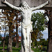 Jesus Christ Crucified Art Print