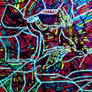 Jesus Christ - King Of Peace Art Print by Gloria Ssali