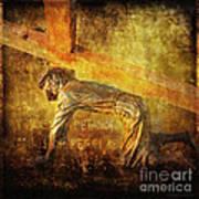 Jesus Falls Again Via Dolorosa 7 Art Print