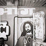 Jesus In Mumbai Art Print