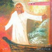Jesus Is The Christ Messiah Art Print