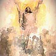 Jesus Loves You 2 Art Print
