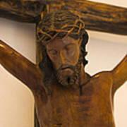 Jesus On The Cross Art Print by Al Bourassa