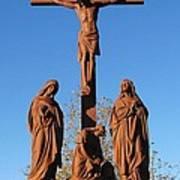 Jesus On The Cross Art Print