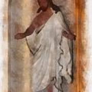 Jesus Photo Art Art Print