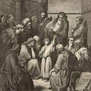 Jesus Questioning The Doctors Art Print