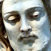 Jesus Statue Art Print by David G Paul