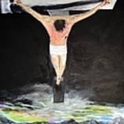 Jesus The Ultimate Sacrifice Art Print