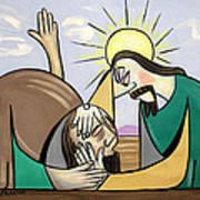 Jesus Will Meet You Where You Are Art Print