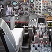 Jet Cockpit Art Print