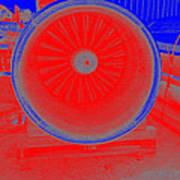Jet Engine 3 Art Print