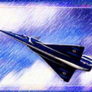 Jet Speed Art Print