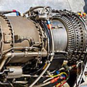 Jet Turbine Engine  Art Print