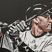 Jeter  Art Print by Don Medina
