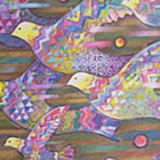 Jetstream Art Print by Sarah Porter
