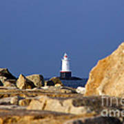 Jetty View Sakonnet Pt. Light II Art Print