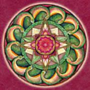 Jewel Of The Heart Mandala Art Print
