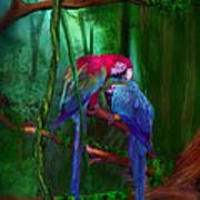 Jewels Of The Jungle Art Print