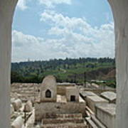 Jewish Cemetery In Morocco Art Print