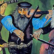 Jewish Klezmer Art Print
