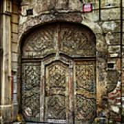Jewish Quarter Doorway Art Print