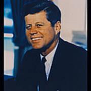 Jfk John F Kennedy Print by Official White House Photo