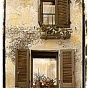 Orvieto Window Polaroid Art Print
