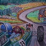 Jim Clark The King Of Spa Art Print
