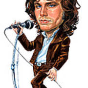 Jim Morrison Art Print by Art